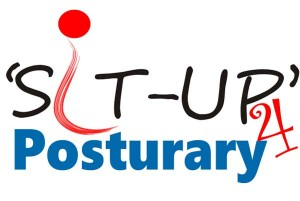 Logo for Balance-Rite Osteopathy Clinic's 'Sit-Up' for Posturary